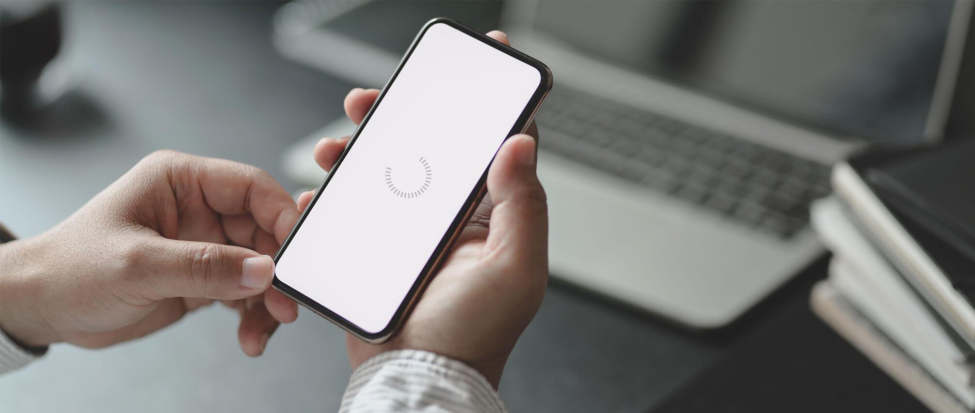 optimalisatie voor mobiele telefoons